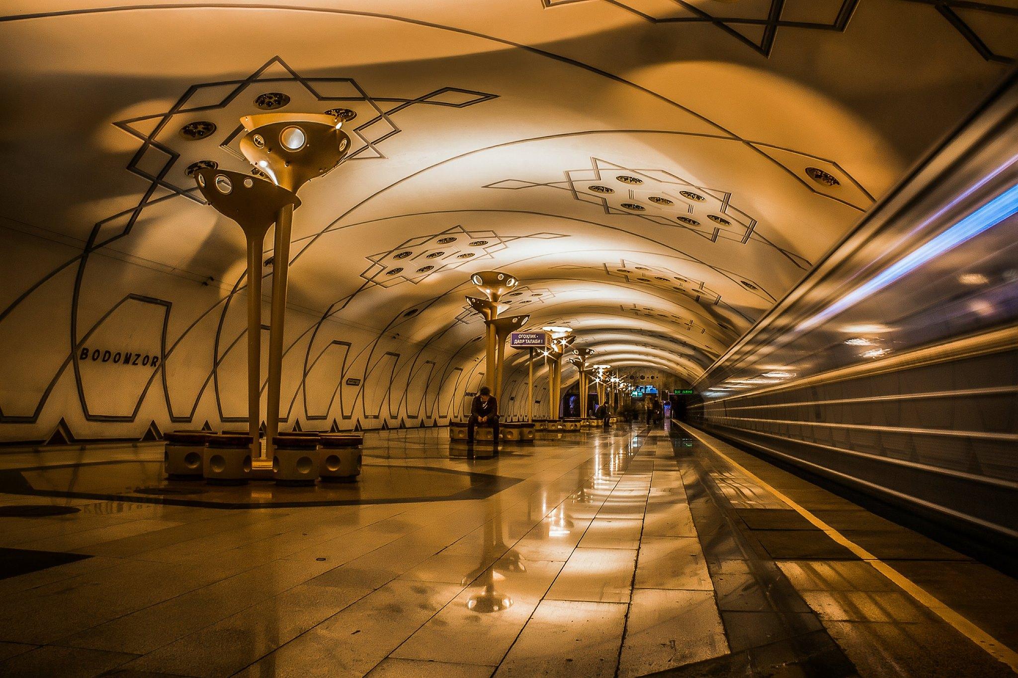 время узнать, ташкентский метрополитен фото них красивое веретеновидное